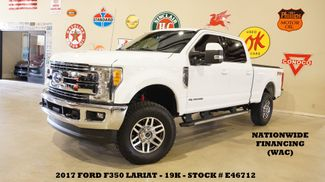 2017 Ford F-350 SRW Lariat 4X4 LIFTED,NAV,BACK-UP,HTD/COOL LTH,19K in Carrollton, TX 75006