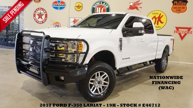 2017 Ford F-350 SRW Lariat 4X4 LIFTED,EXHAUST,NAV,HTD/COOL LTH,19K