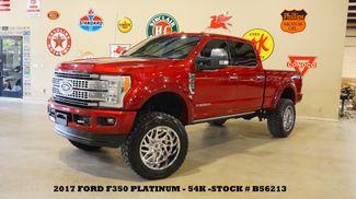 2017 Ford F-350 SRW Platinum 4X4 LIFTED,PANO ROOF,NAV,FUEL 22'S,54K in Carrollton, TX 75006