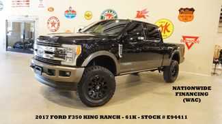2017 Ford F-350 SRW King Ranch 4X4 LIFTED,ROOF,360 CAM,FUEL WHLS,61K in Carrollton, TX 75006