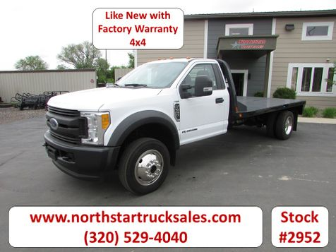 2017 Ford F-450 4x4 Flat Bed Truck  in St Cloud, MN