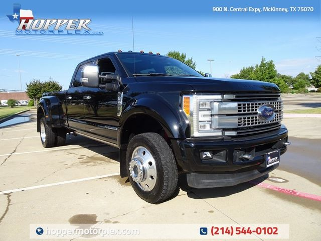 2017 Ford F-450SD Platinum DRW
