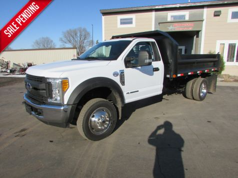 2017 Ford F-550 4x2 With a New 11' Contractor Dump  in St Cloud, MN