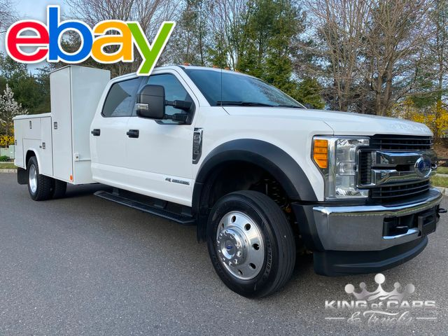 2017 Ford F-550 Diesel Drw READING UTILITY XLT