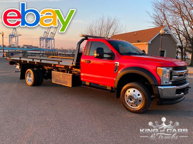 2017 Ford F-550 V10 4x4 2-CAR ROLLBACK TOW TRUCK LIKE NEW LOW MILES