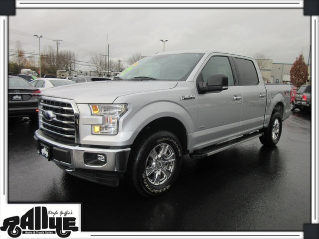 2017 Ford F150 XLT XTR 3.5L ECO S/Crew 4WD in Burlington WA, 98233
