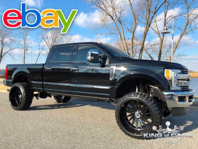 2017 Ford F250 Crew Lariat 6.7l DIESEL 34K MILE LIFTED AMERICAN FORCE