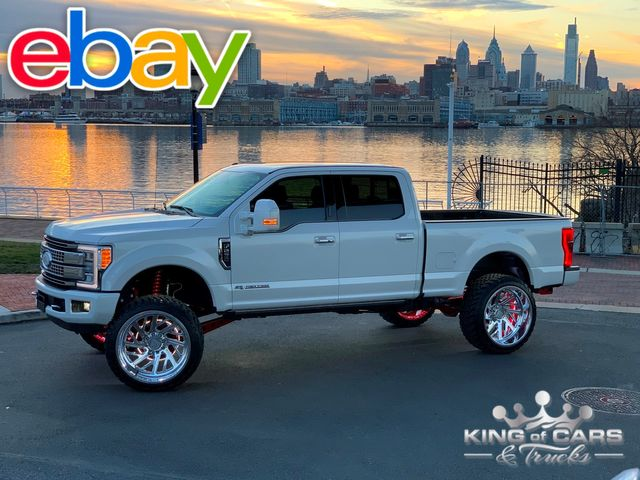 2017 Ford F250 Crew Platinum 6.7L DIESEL 7K MILES LIFTED SPECIALTY FORGED 4X4
