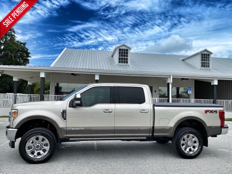 2017 Ford Super Duty F-250 Pickup KING RANCH ULTIMATE DIESEL 4X4 CREWCAB LOADED in Plant City, Florida