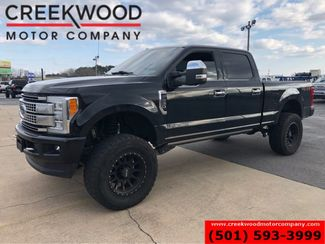 2017 Ford Super Duty F-250 Platinum 4x4 Diesel Lifted Black 20s Nav Roof NICE in Searcy, AR 72143