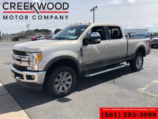 2017 Ford Super Duty F-250 King Ranch 4x4 Diesel Tan 1 Owner Nav 20s LowMiles in Searcy, AR 72143