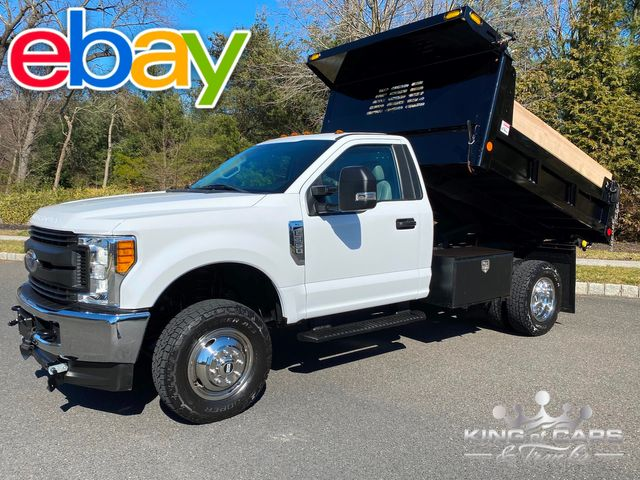 2017 Ford F350 4x4 6.2l V8 MASON DUMP ONLY 19K MILES LIKE NEW 1-OWNER