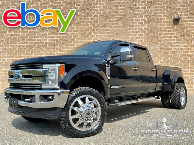 2017 Ford F350 Drw 6.7l DIESEL 4X4 LARIAT ON FORCES LOW MILE MUST SEE