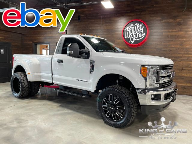 2017 Ford F350 Drw Reg Cab 4X4 DUALLY LEVELED ON 35'S KILLER LOOK