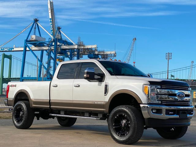 2017 Ford F350 Lariat 4x4 CREW LONG BED SRW 6.7L DIESEL LOW MILE WOW