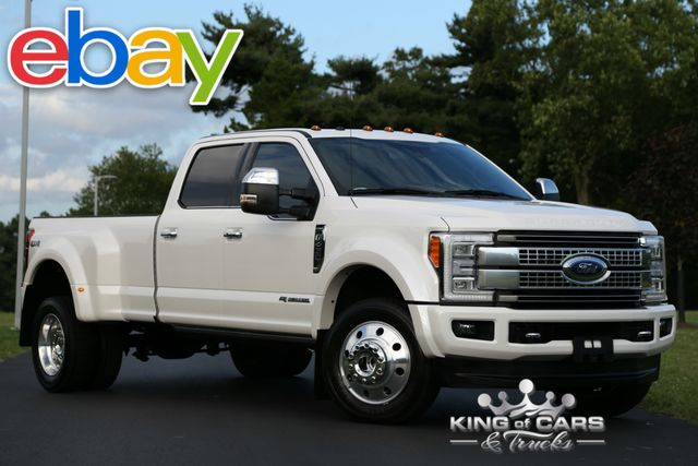 2017 Ford F450 Crew Drw PLATINUM 6.7L DIESEL 13K MILES 1-OWNER 4X4 in Woodbury New Jersey, 08096