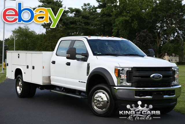 2017 Ford F450 Crew Utility SERVICE 6.7L TURBO DIESEL 9K MILES 1OWNER 4X4 11' BOX in Woodbury New Jersey, 08096