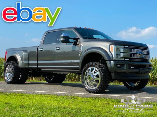 """2017 Ford F450 Drw 6.7l Diesel 4X4 PLATINUM ON 24"""" FORCES KILLER LOOK MUST SEE"""
