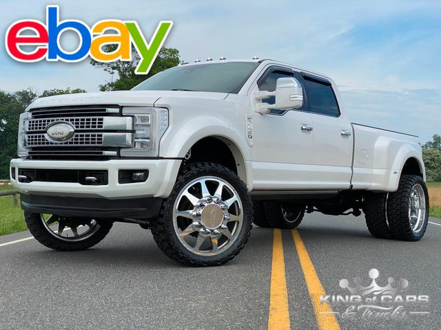 """2017 Ford F450 Drw 6.7l DIESEL 4X4 PLATINUM ON 26"""" JTX KILLER LOOK MUST SEE in Woodbury, New Jersey 08093"""