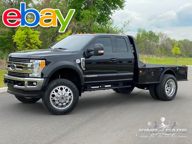 """2017 Ford F450 Lariat Drw 6.7L DIESEL 4X4 CM HAULER BED 22.5"""" FORCES in Woodbury, New Jersey 08093"""