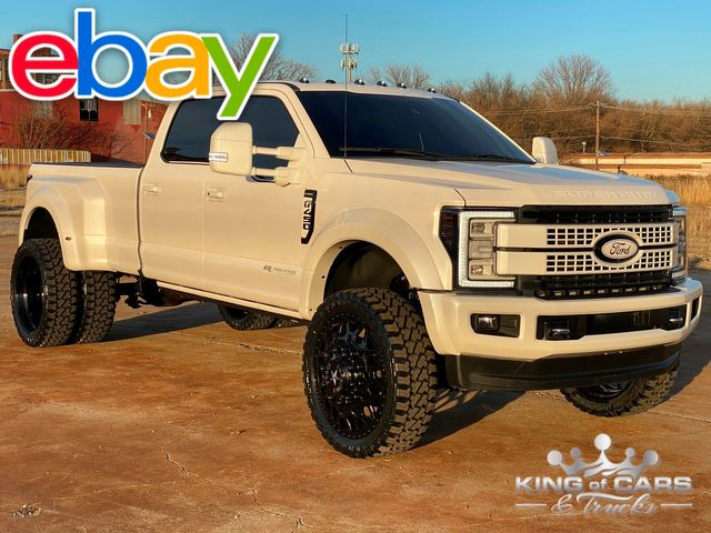 2017 Ford F450 Platinum 6.7l DIESEL 4X4 CREW DRW ONLY 29k MILES BEST OF THE BEST MUST SEE