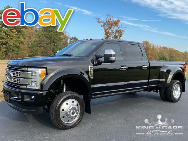 2017 Ford F450 Platinum 6.7l DIESEL 4X4 ONLY 47K MILE DRW LOADED