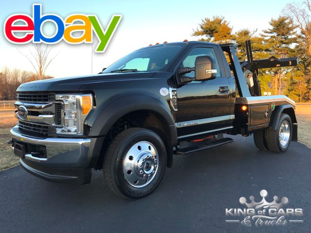 2017 Ford F450 Xlt 4x4 6.7l 1-OWNER JERR-DAN WRECKER SELF LOADER ONLY 20K MILES