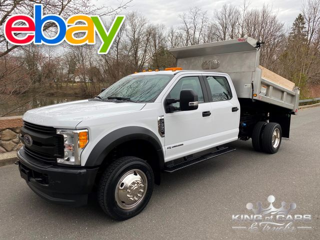 2017 Ford F550 4x4 6.7l DIESEL STAINLESS MASON DUMP 31K MILE LIKE NEW in Woodbury, New Jersey 08093