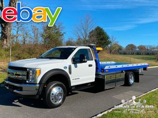 2017 Ford F550 Diesel 6.7l CHEVRON ROLLBACK TOW TRUCK LOW MILE MINT LOADED in Woodbury, New Jersey 08093
