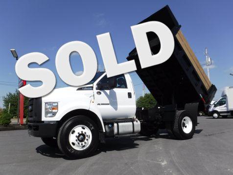 2017 Ford F650 11FT Dump Truck Non CDL in Ephrata, PA