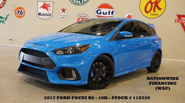 2017 Ford Focus RS AWD ROOF,NAV,BACK-UP CAM,RECARO,10K,WE FINANCE