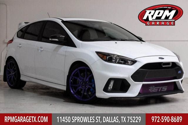 2017 Ford Focus Rs With Many Upgrades