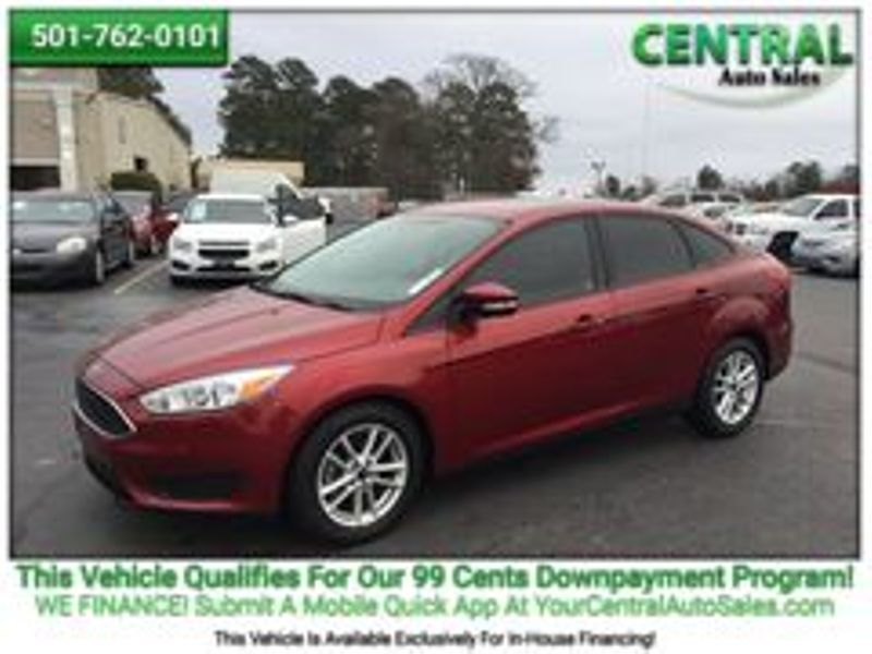 2017 Ford Focus SE | Hot Springs, AR | Central Auto Sales in Hot Springs AR