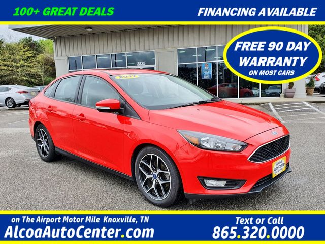 "2017 Ford Focus SEL w/SYNC/Sunroof/17"" Alloy Wheels"