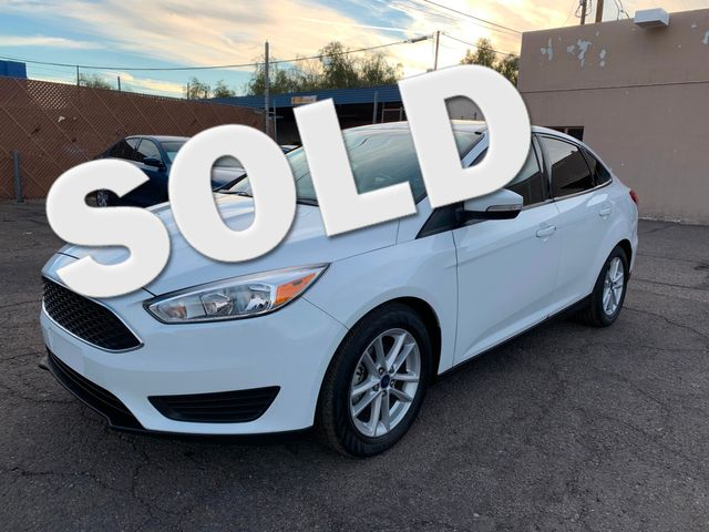 2017 Ford Focus SE 3 MONTH/3,000 MILE NATIONAL POWERTRAIN WARRANTY Mesa, Arizona 0