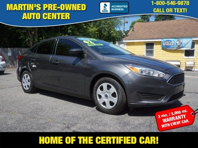 2017 Ford Focus S in Whitman, MA 02382