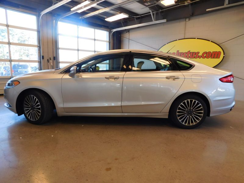2017 Ford Fusion Titanium  city TN  Doug Justus Auto Center Inc  in Airport Motor Mile ( Metro Knoxville ), TN