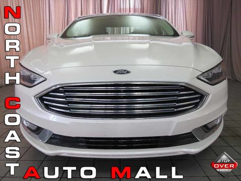 2017 Ford Fusion Titanium in Akron, OH