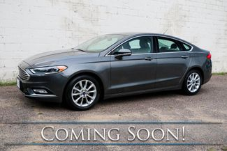 2017 Ford Fusion SE Ecoboost Sport Sedan w/Backup Cam, Heated Seats, Power Seats & Gets 32+ MPG in Eau Claire, Wisconsin 54703