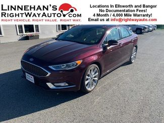 2017 Ford Fusion Platinum in Bangor, ME 04401