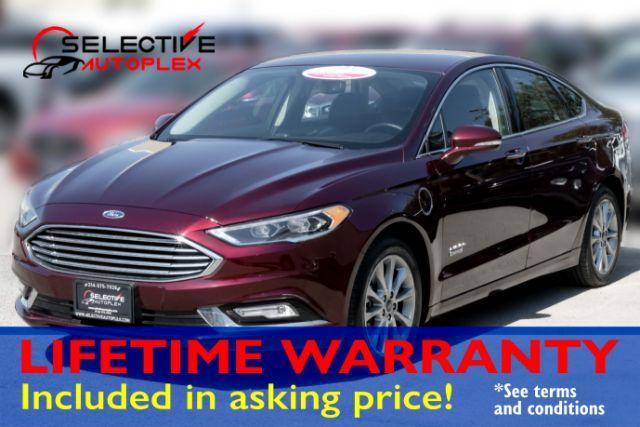 2017 Ford Fusion Energi Hybrid SE, NAV, LEATHER SEATS, REMOTE START