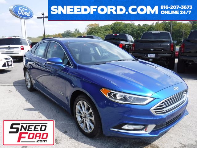 2017 Ford Fusion Energi Titanium in Gower Missouri, 64454