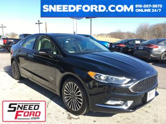 2017 Ford Fusion Energi Platinum in Gower Missouri, 64454