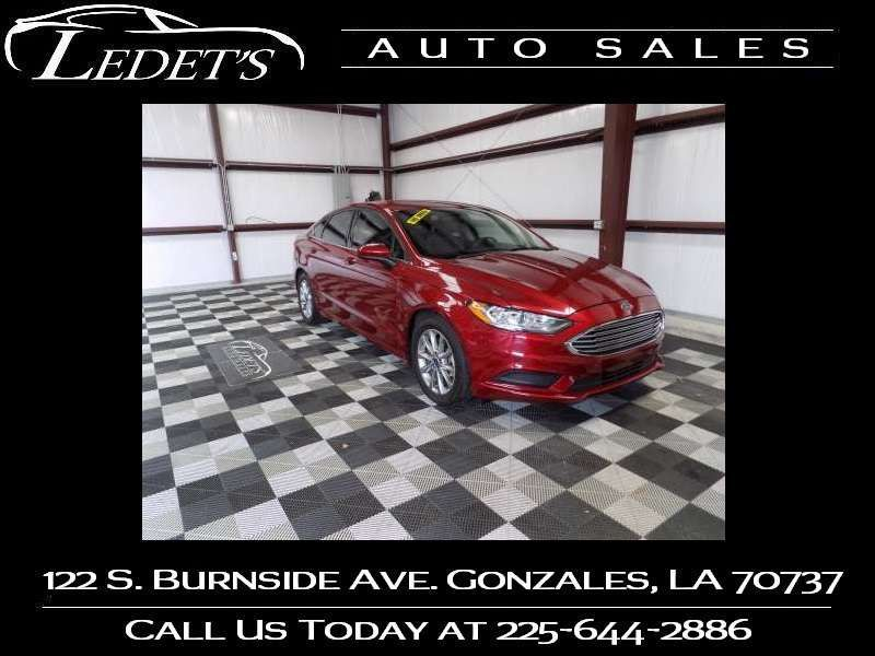 2017 Ford Fusion S - Ledet's Auto Sales Gonzales_state_zip in Gonzales Louisiana