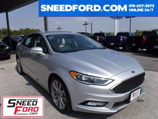 2017 Ford Fusion Platinum AWD in Gower Missouri, 64454