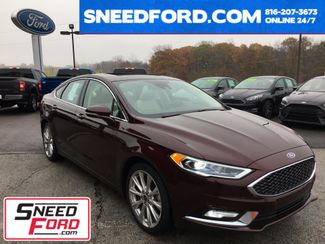 2017 Ford Fusion Platinum in Gower Missouri, 64454