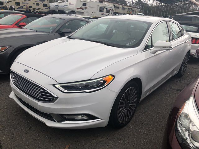 2017 Ford Fusion Titanium - John Gibson Auto Sales Hot Springs in Hot Springs Arkansas