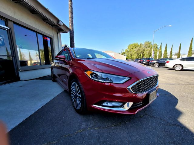 2017 Ford Fusion Hybrid Platinum in Campbell, CA 95008