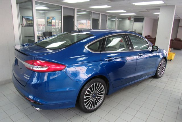 2017 Ford Fusion Hybrid Titanium W/ BACK UP CAM Chicago, Illinois 2