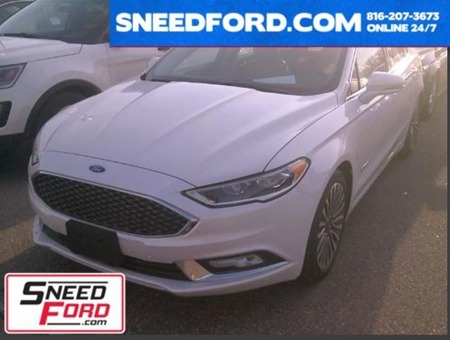 2017 Ford Fusion Hybrid Platinum in Gower Missouri, 64454